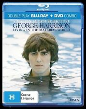 George Harrison : Living the Material World (DVD + Blu-Ray) NEW
