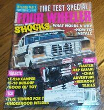 Four Wheeler September 1995 Tire Test, Jeep Safari,F-250 Camper, S-10 Buildup