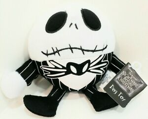THE NIGHTMARE BEFORE CHRISTMAS: DOG TOY: SQUEAKY TOY: JACK SKELLINGTON: NEW