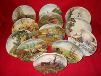 THE FOUR SEASONS & THE FARM YEAR MICHAEL HERRING WEDGWOOD PLATES -  SELECT PLATE