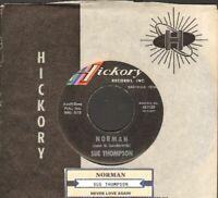 Thompson, Sue - Norman/Never Love Again Vinyl 45 rpm Record Free Ship