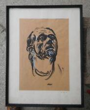 ausdrucksstarkes Portrait signiert F. Kitt