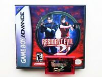 Resident Evil 2 w/ Case GBA Unreleased Prototype - Nintendo Gameboy (US Seller)