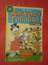 ALBO D'ORO- ALMANACCO DI TOPOLINO- n° 237 a - DEL 1976- originale mondadori