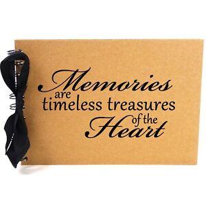 Ribbon, Memories, Photo Album, Scrapbook, Blank White Pages, A5