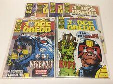 JUDGE DREDD #1-6 (QUALITY COMICS/1986/WAGNER/STEVE DILLON/061736) FULL SET OF 6