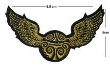 Snitch Iron / Sew On Embroidered Patch Badge Embroidery harry potter hogwarts