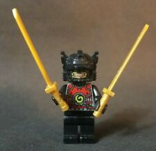 LEGO Ninjago Lord Garmadon 2 Arms Minifigure Good Condition Golden Swords