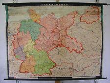 Schulwandkarte Wandkarte map Karte Deutschland Germany 1937 politisch 128x98 66