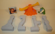 """2013 Macawnivore & Grug 2"""" McDonald's Movie Action Figure Set #1 The Croods"""