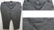 Damenhosen im Stoffhose aus Baumwollmischung in Übergröße