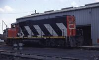 CN CANADIAN NATIONAL Railroad Locomotive 5578 Original 1977 Photo Slide