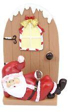 Father Christmas Fairy Elf Door Letter Rack For Cards - Santa Design