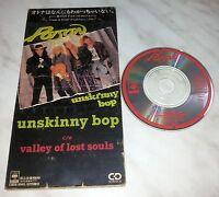 """CD POISON - UNSKINNY BOP - CSDS-8143 - JAPAN 3"""" INCH - SINGLE"""