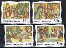 Bophuthatswana postfris 1988 MNH 198-201 - Bijbelse Taferelen