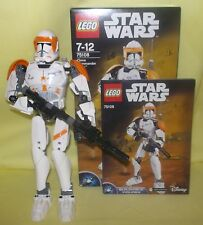 LEGO STAR WARS BUILDABLE FIGURE CLONE COMMANDER CODY 75108