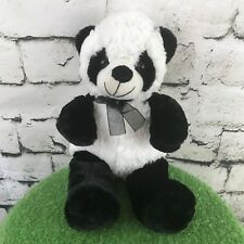 Big T Toys Black White Panda Bear Teddy Plush Stuffed Animal Soft Toy