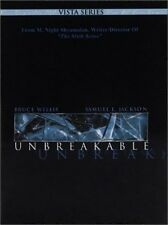 Unbreakable (Two-Disc Vista Series) Movie Dvd Factory Sealed New Free Shipping