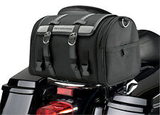 Nelson-Rigg CTB-1010 Black Cruiser Touring Motorcycle Backrest Luggage Rack Bag