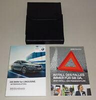 Bordmappe mit Betriebsanleitung BMW 5er Limousine G30 Stand 02/2017