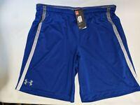 "Under Armour UA HeatGear Mens Tech Mesh 10"" Shorts Loose Fit 1271940 Black  XL"