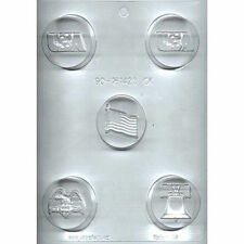 Patriotic Chocolate Cookie Candy Mold from CK #161423 - NEW