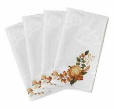 Windsor Frame Autumn Themed Fabric Napkins (Set of 4)