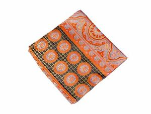 Lord R Colton Masterworks Pocket Square - Rocas Atoll Moroccan Silk - $75 New
