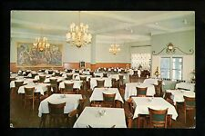 New Jersey NJ postcard Restaurant interior Montclair, Wedgwood Cafeteria