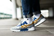 Asics Gel-Lyte Gel Lyte Glacier Grey/Sandstorm Yellow/Blue (1193A102-020) - UK 8