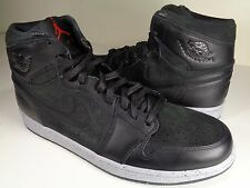 Nike Air Jordan 1 Retro High NYC PSNY Black Red Wolf Grey SZ 9 (715060-002)