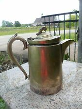 Antique Walker Hall Sheffield England Silver Coffee Tea Pot Jug Patent Handle