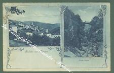 Liguria. TRIORA, Imperia. Saluti da. Cartolina d'epoca viaggiata nel 1925.