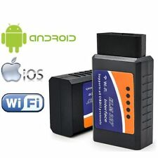 2017 WiFi Wireless OBD-II ELM327 OBD2 Auto Car Diagnostic Scanner Tool Adapter