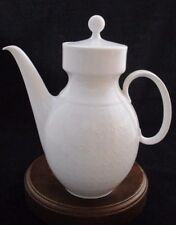 Kaiser KAI20 White Embossed Small Tea Pot with Lid Made in Germany 2 Cups