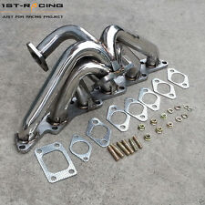 TOP MOUNT Exhaust Manifold T3 For SKYLINE STAGEA CEFIRO RB20 RB25 R32 R33 R34