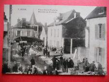 GUER  :  Le Marché aux Cochons Place Claire-Fontaine