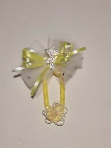 Yellow Stork Gender Neutral Theme Baby Shower Party Theme Pin Corsage