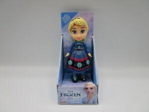 "Disney Princess Mini Toddler Young Elsa Posable Doll 3"" Figure Frozen Toy"