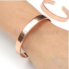 Unisex Magnetic Copper Bracelet Healing Bio Therapy Arthritis Pain Relief Bangle