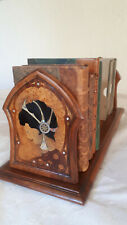 Serre livres marqueterie art nouveau Nancy, style Mucha Klimt Gallé jugendstil