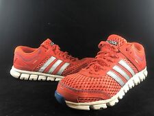 ADIDAS CLIMACOOL Orange Silver White Running Shoes Mens Size 8