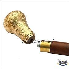 Victorian Handle Antique Brass Vintage Style Walking Stick Cane Designer Vintag