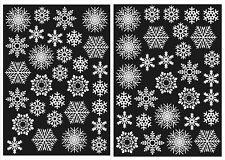 60 Snowflake Window Clings Frozen Party Winter Wonderland -Static Cling sticker