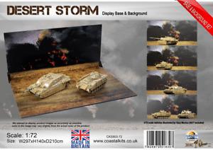 """Coastal Kits '1:72 Desert Storm Base & Background set"""""""