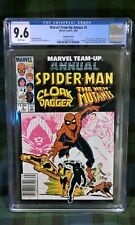 Marvel Team-Up Annual #6 CGC 9.6 'Newstand Copy' 1983 ~ Canadian Variant