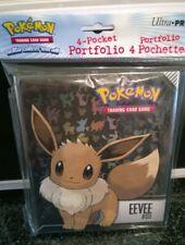 Pokemon Eevee 4 pocket Page Portfolio Album Binder Holder Card Protection