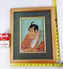 Vintage GEMCRAFTs JAPAN painting Toshusai Sharaku 東洲斎写楽 print wall art Kabuki