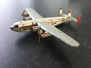 Dinky super toys, York four engined plane , 40s ,
