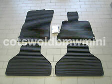 Genuine BMW E70 X5 Tailored Rubber Car Mats